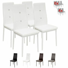4 x Esszimmerstühle DIAMOND - weiss - Esszimmerstuhl Küchenstuhl Stuhl Stühle