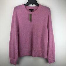 J.Crew Women's Crewneck Sweater in Super Soft Yarn Pink Size 2XL