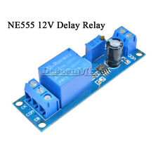 1/2/5/10PCS Adjustable NE555 12V Delay Timer Switch Relay module 0 to 10 Second