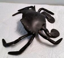 Vintage Cast Iron Crab Shaped Ink Well