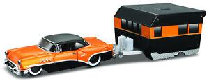 1955 Buick Century + Alameda Trailer, Maisto Tow & Go 1:64