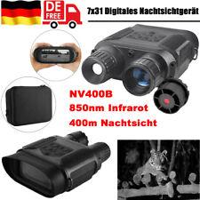 7x31 Digitales Nachtsichtgerät 850nm Infrarot Binokular Fernglas Camcorder O7Y8