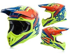 Acerbis Casco Cross Impact 3.0 Orange/fluo Yellolia L