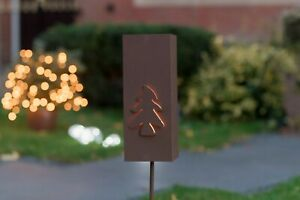 Christmas Tree Stake tealight holder - buy 2 for the price of 1