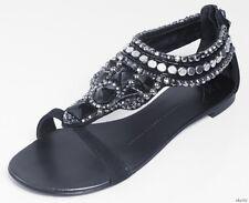 new $1500 Giuseppe ZANOTTI all JEWELED rhinestones flats shoes 36.5 US 6.5 - ART