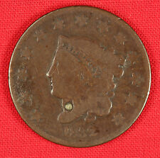 1832 Large cent, G condition with corrosion, small legend, small denomination