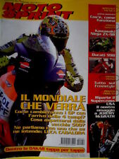 Motosprint 2 2002 Poster Tributo a Jeremy McGrath. Ducati 998. Dakar le tappe