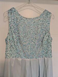 Apart Glamour Abendkleid / Brautkleid Gr. 46 Iceblau