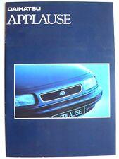 Prospekt Daihatsu Applause, 10.1992, 16 Seiten