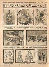 Coiffeur Poilus Tranchée Toilette Lit Gigogne Bataille Verdun/Arcachon WWI 1915