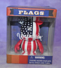"DISNEY FLAG SERIES RED,WHITE & BLUE USA MICKEY MOUSE AMERICA 3"" ~ NEW IN BOX"