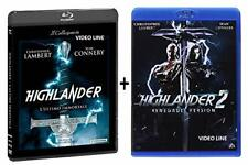 Blu Ray Highlander - L'Ultimo Immortale / Highlander 2 - Il Ritorno (2 Blu Ray)