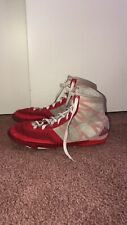 Adidas Men's Pretereo Iii Wrestling Boxing Shoes Us 8 1/2 Red White