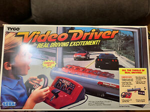 Video Driver Sega Tyco 1989 VHS Console Video Game System Complete in Box