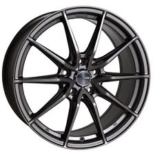 15x6.5 Enkei Rims DRACO 5x114.3 +38 Antrhracite Rims Fits Type R Talon Civic