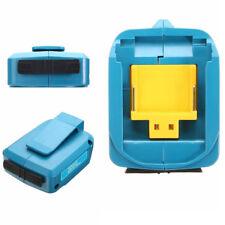 1pcs 2 USB Puertos Cargador de Batería Adaptador Apto para Makita Bl1830/Bl1430