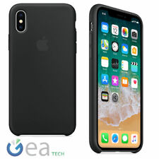 Custodia in Silicone Originale APPLE Per iPhone X Back Cover Case Soft Touch