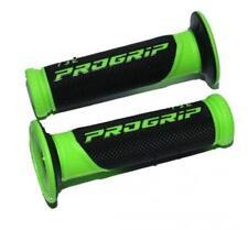 Guidons, poignées et leviers verts PROGRIP pour motocyclette
