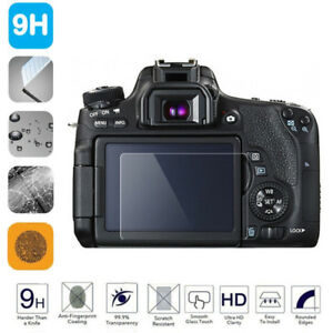 Tempered Glass Camera Screen Protector For Canon 550D/600D/60D 6D 200D/KISS 9~