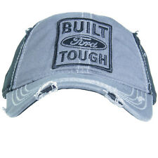 02f3b6b8c20bd OEM NEW Ford Built Ford Tough Black and Grey Hat Baseball Cap