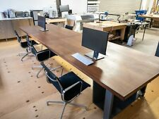 Custom Made Walnut Conference Table1735 Inch X 495 Inch X 30375 In