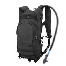 Black Quickstrike Tactical Military Hydration Compatible MOLLE Backpack Pack Bag