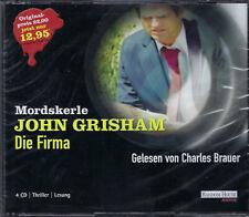 John Grisham - Die Firma (Hörbuch - 4 CDs)