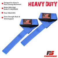 Best Wrist Wraps BAR LIFTING STRAPS for POWER LIFTING CROSSFIT Gym WEIGHT LIFTIN