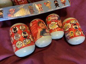 4x NEW Ryan's World Squishy Series 4 Mystery Figure Toy