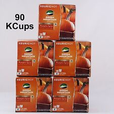 Keurig KCups Pumpkin Spice Green Mountain 90 KCup  Coffee Pods Free Shipping