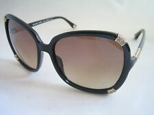 MICHAEL KORS SUNGLASSES MKS845 001 ABIGAIL BLACK GOLD GENUINE MK BNWT