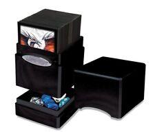 Deck Box: Hi-Gloss Midnight Satin Tower