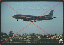 770 - 35mm Kodachrome Aircraft Slide - AMERICAN Boeing 707 N7572A taken in 1978