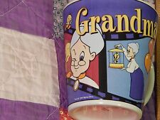 Grandma & Tweety - 1999 Coffee Mug - Warner Bros. (FREE SHIP.) ^ v ^