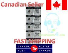 Energizer 393/309 Watch, Calculator 1.5V Silver Oxide Battery SR48W, AG5 - 5 Pcs