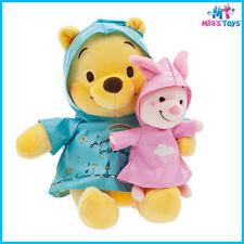 Disney Winnie the Pooh and Piglet Rainy Day Plush Set