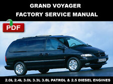 chrysler voyager workshop manual ebay rh ebay ie 2005 Chrysler Grand Voyager 2000 Chrysler Grand Voyager