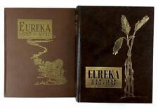 (2) 1937 & 1987 Eureka South Dakota Books Lot 1038