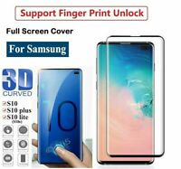For Samsung Galaxy S10 + Note 10+ Tempered Glass Screen Protector Film 3D Curve