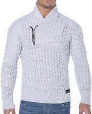 Redbridge Herren-Pullover & -Strickware aus Acryl mit Reißverschluss