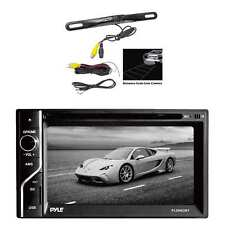 Pyle PLDN63BT In-Dash Touch Screen receiver w/Pyle Rear View Backup Color Camera