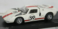 BOX 1/43 SCALE DIECAST - 8453 - FORD GT40 LE MANS 1966 - WHITE - #59