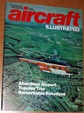 Aircraft Illustrated Magazine 1977 November Chipmunk,Aberdeen,Beaufighter