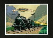 VINTAGE CLASSICS - Mali 1996 - Historic Trains, Rheingold - Souvenir Sheet - MNH