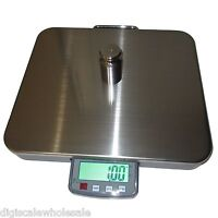 Tree CSS-400 Shipping Scale 400lb x 0.1lb Large Stainless Platform w/ AC Power