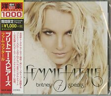 BRITNEY SPEARS-FEMME FATALE-JAPAN CD Ltd/Ed B63