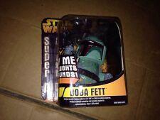 2005 Star Wars Super D Boba Fett Lights & Sounds Brand New 100% Working