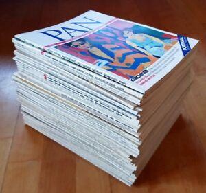46x PAN Kunst & Kultur herrliche Welt Zeitschrift Sammlung 1980er 1985 1984 1983