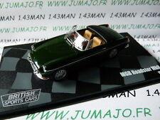voiture 1/43 eagle moss MGB roadster MkII 1968 verte