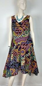 Woman ROBBIE BEE DRESS Size 8 W/LINING Asymmetrical Embellished cowl V~Neck NWT